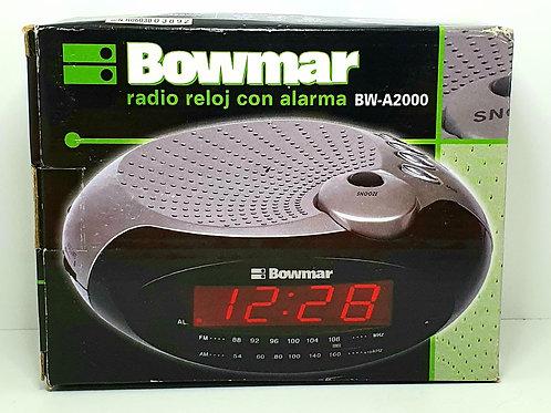 Radio Despertador Alarma Bowmar