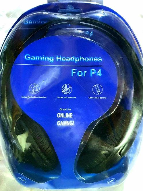 Auriculares Con Microfono Gaming Headphones P4