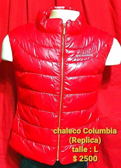 chaleco columbia