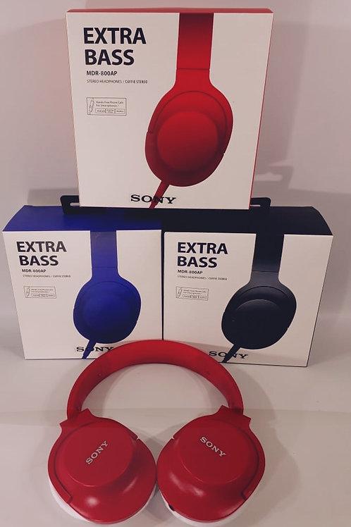 auriculares extra bass sony