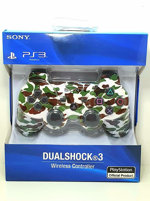 Joystick Ps3 Sony Camuflado