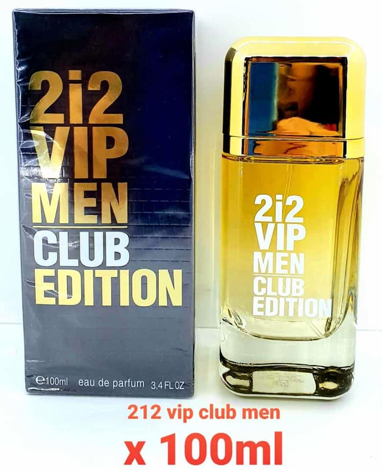 PERFUME 212 VIP CLUB MEN