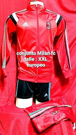 Conjunto Milan Fc