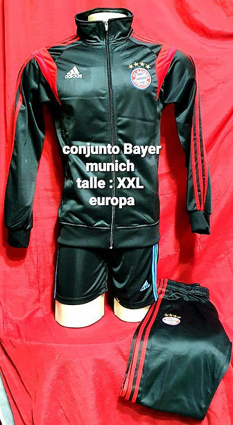 conjunto Bayer munich
