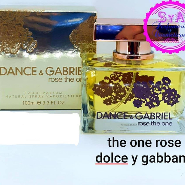 Dolce y gabbana the one rose