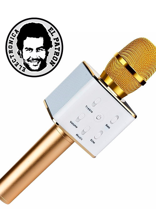 Microfono Bluetooth Karaoke Inalámbrico Parlante