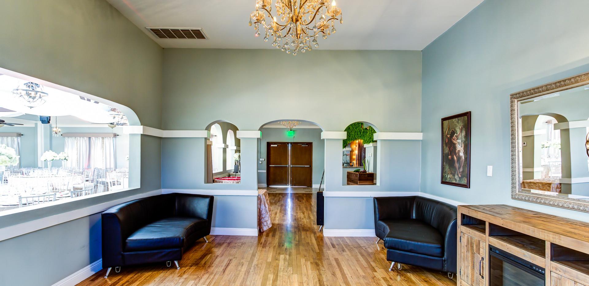 Atlantis Banquet Hall lounge area