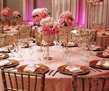 Atlantis Banquet Hall table decoration