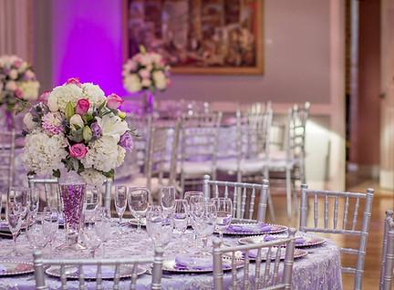 Atlantis Banquet Hall Table Decoration Wedding or Quinceañera