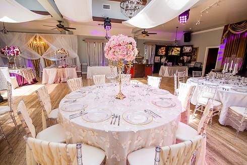 Atlantis Banquet Hall Expo Table Decoration