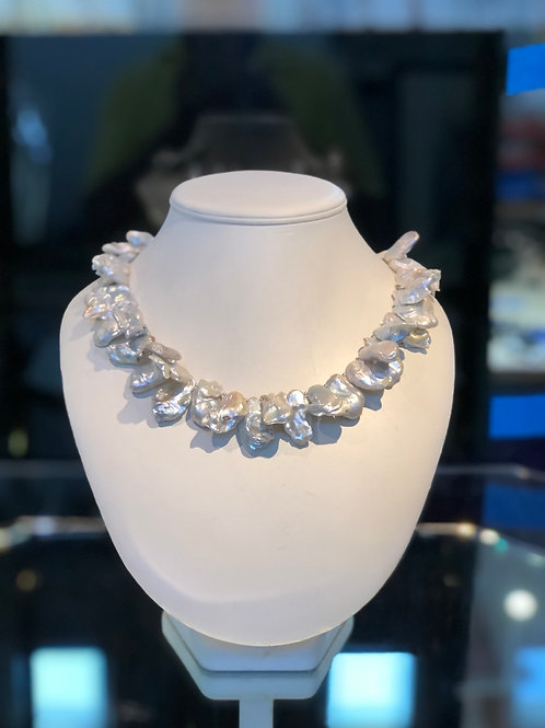 Baroque Pearl Chocker