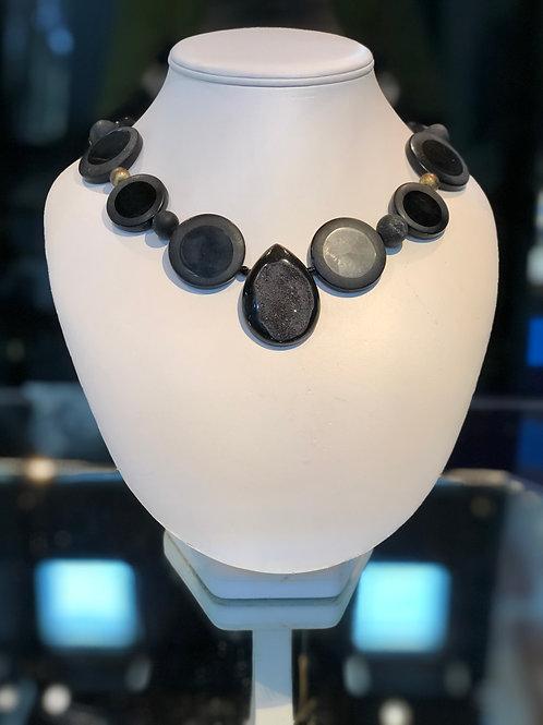 Black Quartz Necklace