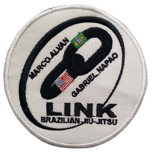 Team Link Circle Patch Small