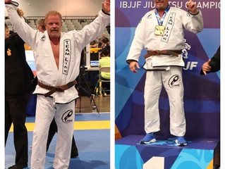 Congratulations to Team Link Brown Belt James Singeltary on winning gold at the IBJJF Masters World