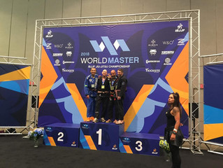 Team Link NH Competitor Daniel Baloche takes Silver at the 2018 IBJJF Master World Championships!