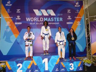 Congratulations to Team Link Blue Belt Suzanne Grubb on winning bronze at the IBJJF Masters World Ch