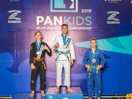 Congratulations to Team Link Competitor Nick Enzor for his silver medal at the Kids Pan-Ams!