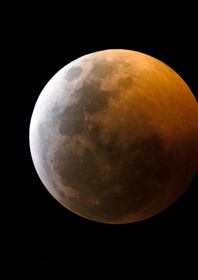 Eclipse de Luna - Inicio Totalidad