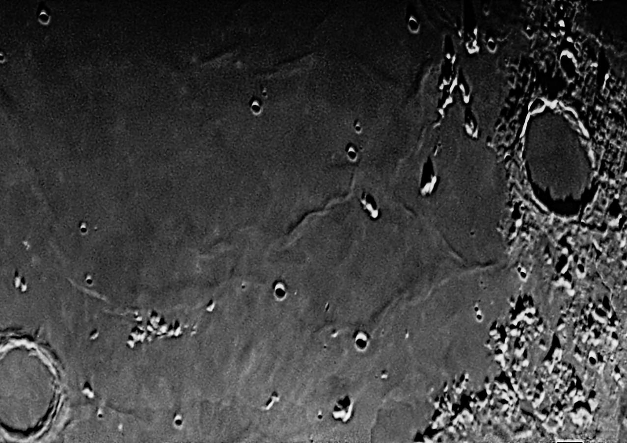 Mar Imbrium de Aquímedes a Platón