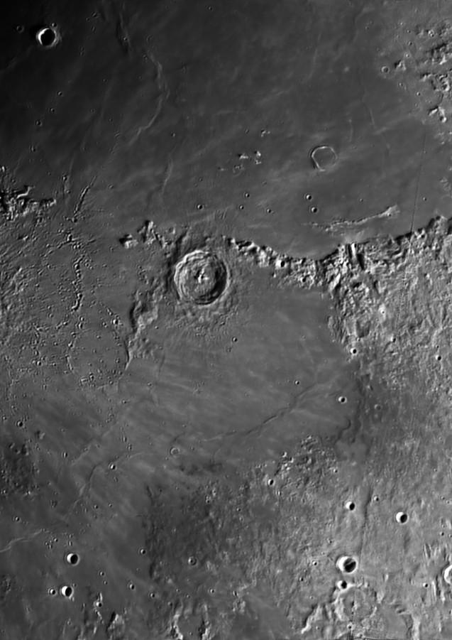 Cráteres Copérmico y Eratóstenes
