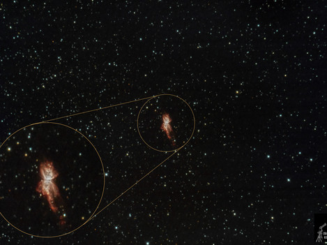 Detalle Nebulosa del Insecto