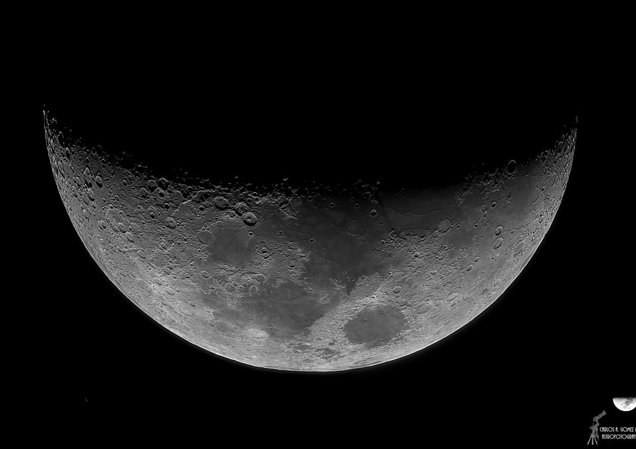 Luna Creciente 35%