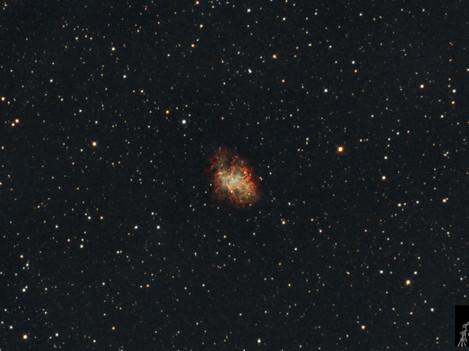 Nebulosa del Cangrejo Messier 1