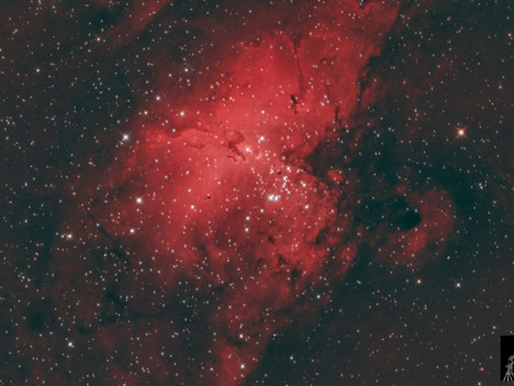 Nebulosa del Águila Ha_RGB