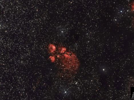 NGC 3664 Nebulosa Pata de Gato