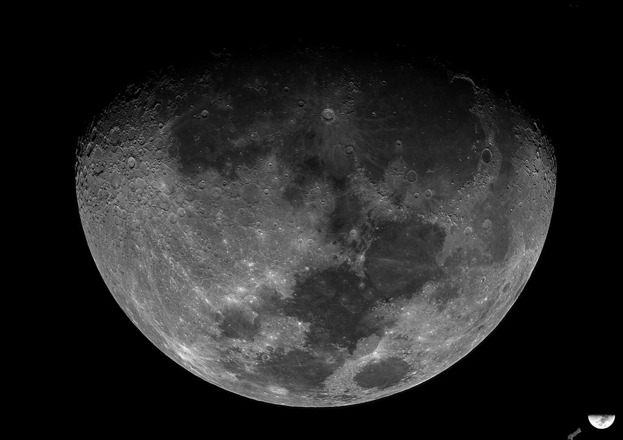 Luna Creciente 78%