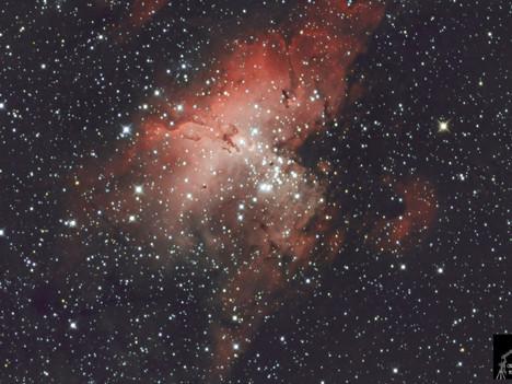 Messier 16 Nebulosa del Águila