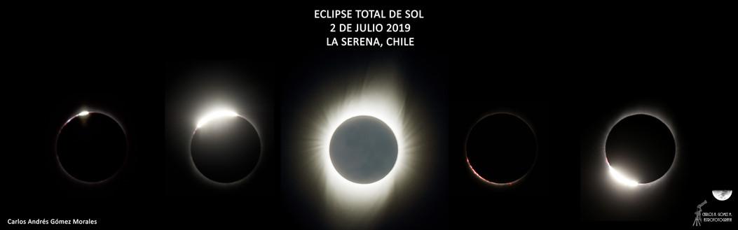 Composición Totalidad Eclipse Solar