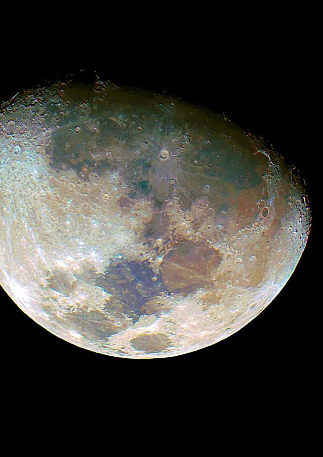 Luna Creciente 80%