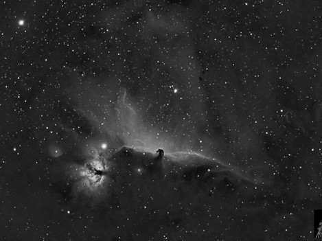 Nebulosa Cabeza de Caballo en Ha