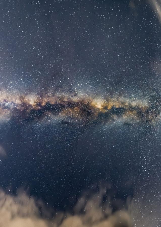Vía Láctea de Sur a Norte
