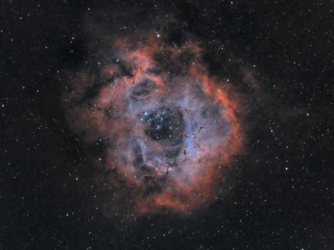 Nebulosa Roseta Paleta HOO