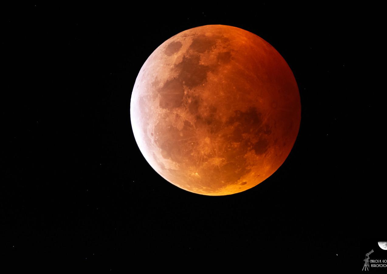 Eclipse de Luna - Totalidad