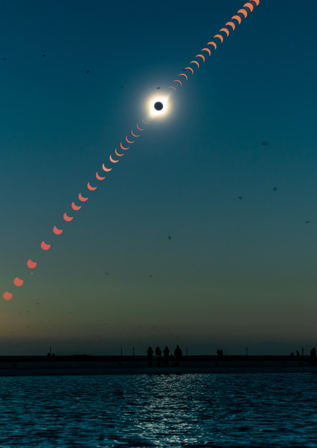 Eclipse Total de Sol Chile 2019