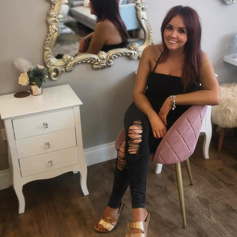 Beauty Training at Jenna McDonnell