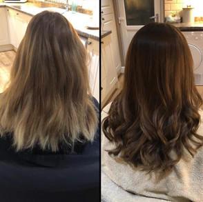 Hair at Jenna McDonnell