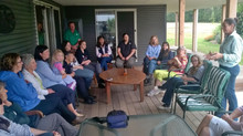 Rural Women's Bus Tour: Learning about Sustainable Farming.