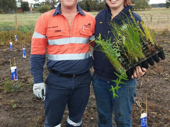 Partnership Boosts Community Flora and Fauna Project