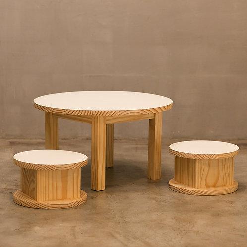 Mesa Stool (mesa + 2 banquetas)
