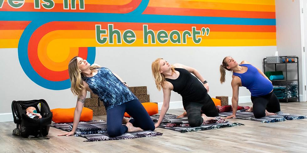 Perinatal Yoga with Lauren Bernazza