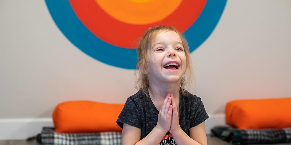 FREE Sample KIDS Yoga Class