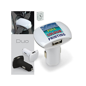CHARGEUR DE VOITURE DOUBLE USB