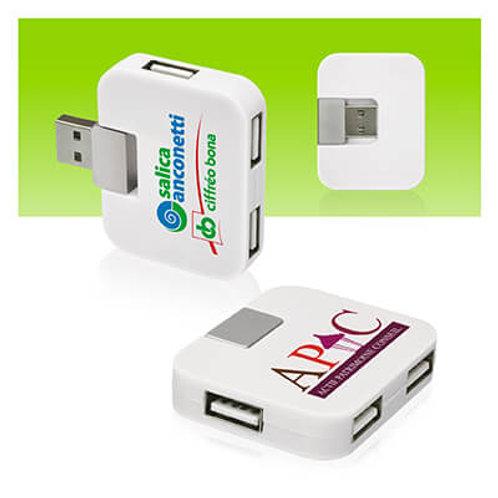 COMPACT HUB 4 PORTS USB