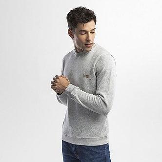 30159 DELTA. Sweat-shirt unisexe col rond