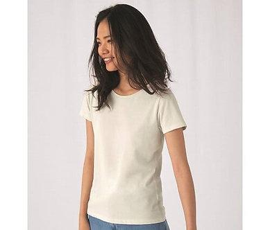 T-shirt femme col rond 150 organique