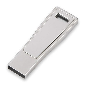 MS092/S- CLE USB METAL CHROME